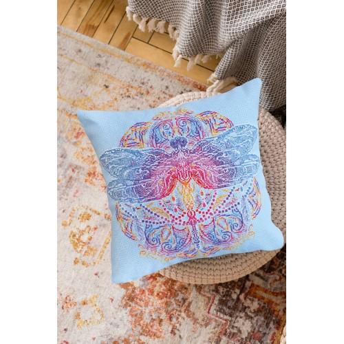"""Набір-подушка для вишивання хрестиком """"Дорогою літа"""""""