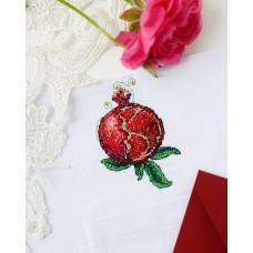 """Набір для вишивання хрестиком на одязі """"Гранат-1"""""""