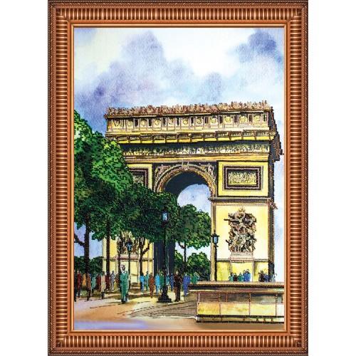 """Набір для вишивання бісером на натуральному художньому холсті """"Тріумфальна арка"""""""