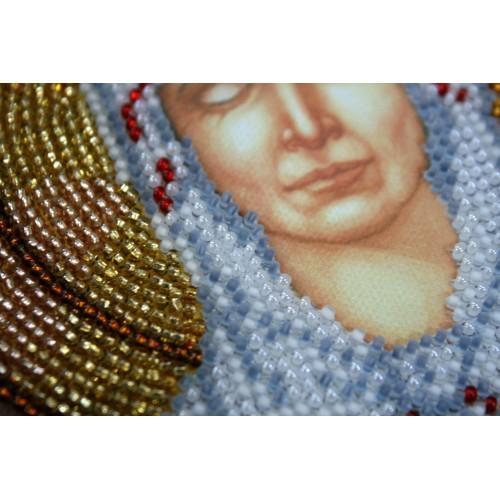 """Набір для вишивання бісером на натуральному художньому холсті """"Ікона""""Матрона Московська"""""""