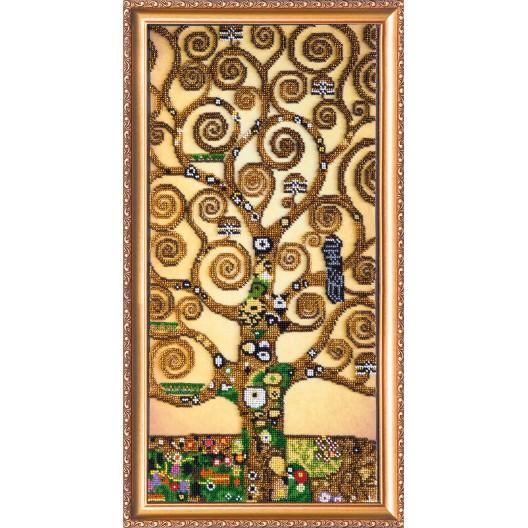 """Набір для вишивання бісером на натуральному художньому холсті """"Дерево життя"""""""