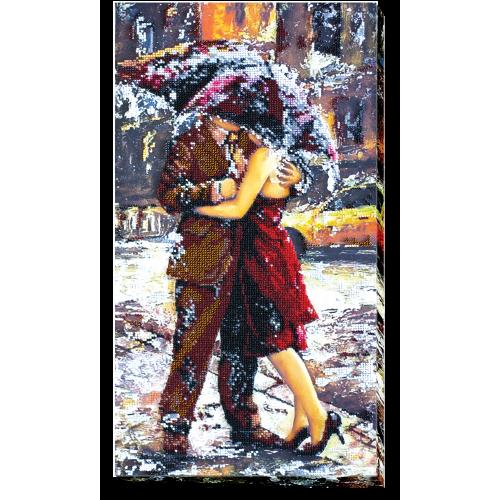 """Набір для вишивання бісером на натуральному художньому холсті """"Історія кохання-2"""""""