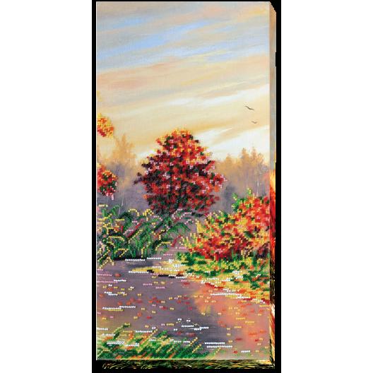 """Набір для вишивання бісером на натуральному художньому холсті """"Осінні замальовки-2"""""""