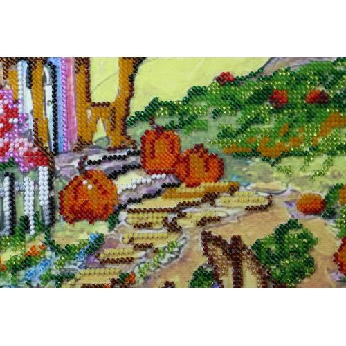 """Набір для вишивання бісером на натуральному художньому холсті """"Казкова осінь"""""""