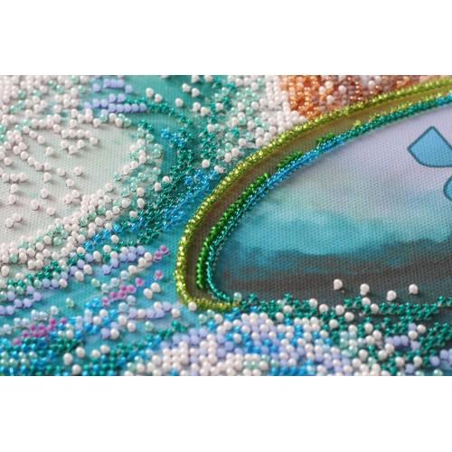 """Набір для вишивання бісером на натуральному художньому холсті """"Море радості"""""""