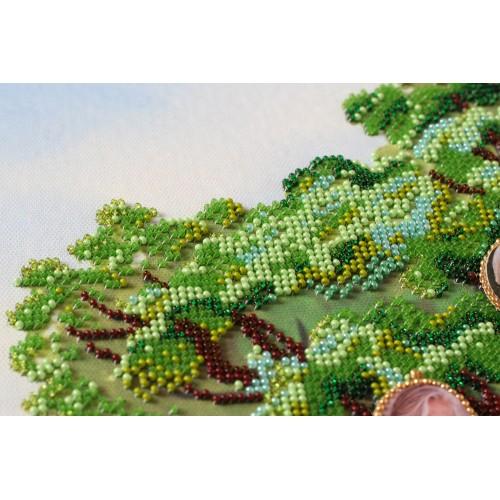 """Набір для вишивання бісером на натуральному художньому холсті """"Дерево роду"""""""