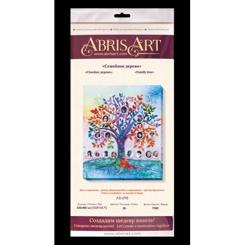 """Набір для вишивання бісером на натуральному художньому холсті """"Сімейне дерево"""""""