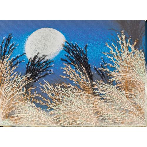 """Набір для вишивання бісером на натуральному художньому холсті """"Шепочуться трави"""""""