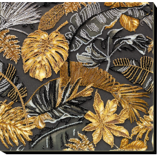 """Набір для вишивання бісером на натуральному художньому холсті """"Золоті тропіки"""""""