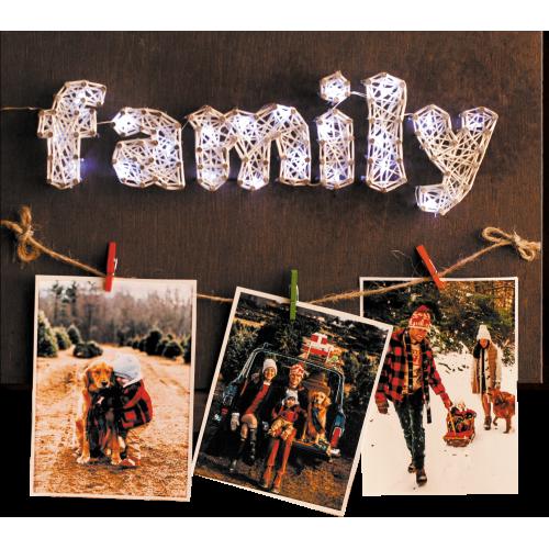 """Набір стринг-арт """"Щаслива родина"""""""