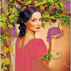 """Схема для вишивання бісером на натуральному художньому холсті """"Іспанський виноград"""""""