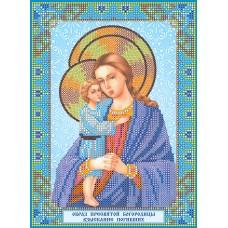 """Схема для вишивання бісером на натуральному художньому холсті """"Ікона Божої Матері """"Віднайдення загиблих"""""""