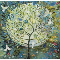 """Набір для вишивання хрестиком """"Дерево миру"""""""