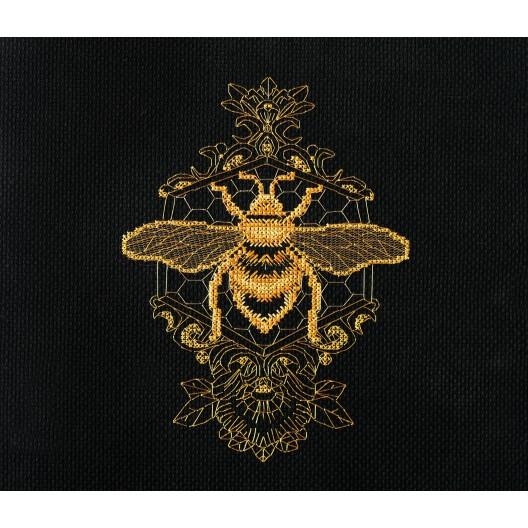 """Набір для вишивання хрестиком """"Золота бджола"""""""