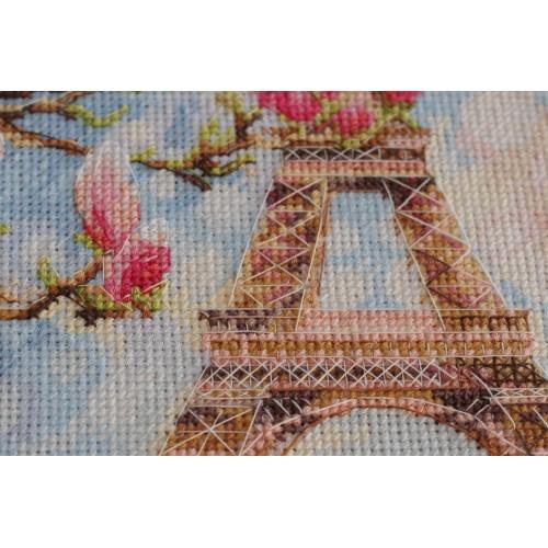 """Набір для вишивання хрестиком """"Ранок в Парижі"""""""