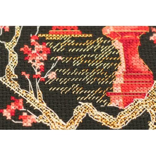 """Набір для вишивання хрестиком """"Японія-4"""""""