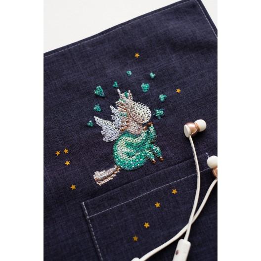 """Набір для вишивання хрестиком на одязі """"В піжамі"""""""