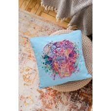 """Набір-подушка для вишивання хрестиком """"Слон"""""""