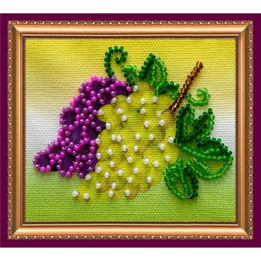 """Набір для вишивання бісером """"Магніт"""" Гроно винограду"""