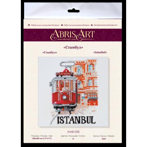 """Набір-міді для вишивання бісером на натуральному художньому холсті """"Стамбул"""""""