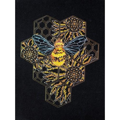 """Набір для вишивання хрестиком """"Бджолиний рай"""""""